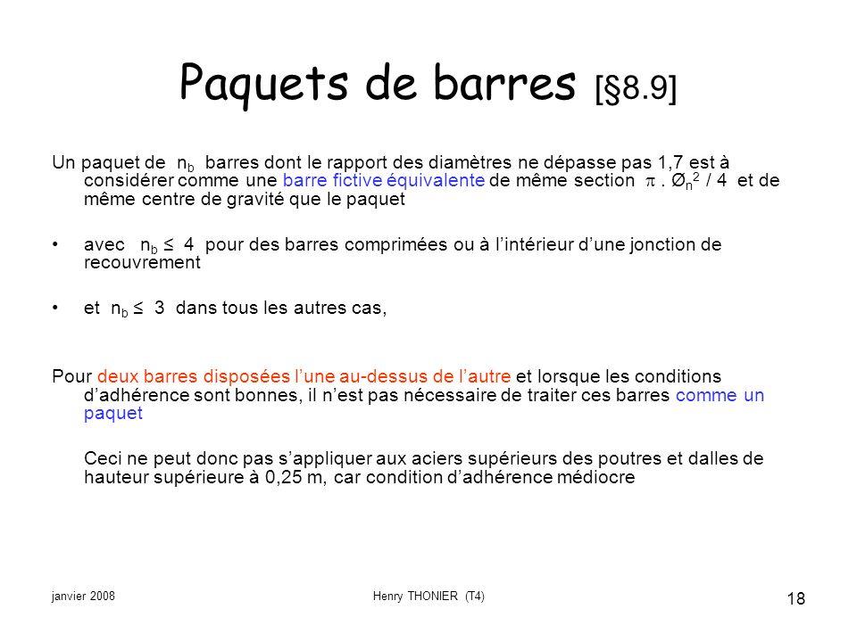 Paquets de barres [§8.9]